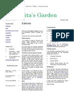 newsletter 13 march 2020