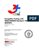 Robert H. Henninger and Michael J. Witte - Energyplus v1-1 Ashrae 140 Bestest-Ernest Orlando Lawrence Berkeley National Laboratory (2003)