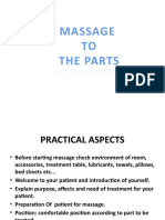 lec 18 massage to the parts
