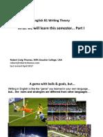 B1 Level English Writing - Theory, the Basics