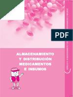 AMIENTO Y DISTRIBUCIÓN MEDICAMENTOS E INSUMOS MÓDULO IV_ ALMACENAMIENTO Y DISTRIBUCIÓN DE MEDICAMENTOS E INSUMOS