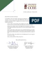 Coronavirus - COMECE and CCEE Presidents Raise a Common Prayer to God