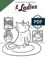 Cat Ladies Coloring Kit
