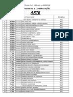 classificação 2018