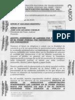 Oficio N° 025-2020-CEN/FNTPJ