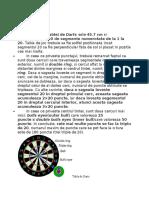 Tabla de Darts