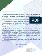 Manual Proprietário - Maralto Prime