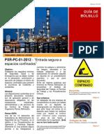 PXR-PC-01-2012 Entrada Segura a Espacios Confinados