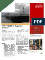 PXR-PC-05-2012 Seguridad Eléctrica