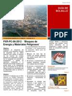 PXR-PC-06-2012 Bloqueo de Energia y Materiales Peligrosos
