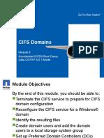 CIFS Domains