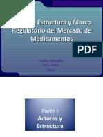 Agentes y marco normativo del sector farmacéutico