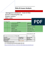 Risk_and_Issues_Analysis_ QA Final