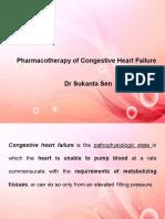 Drugs for congestive heart failure Dr S Sen