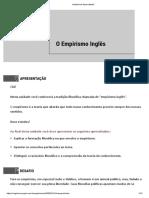 6 - O Empirismo Inglês