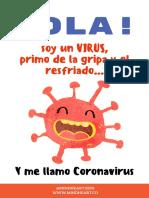 Coronavirus Explicado para Niños