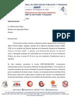 ANEP-Fuerza Pública solicita al MSP distribuir insumos de prevención contra el  COVID-19 a cuerpos policiales