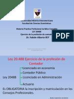 1ra Clase LEY 20488 CPCE CABA TRIBUNAL DISCIPLINA