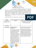 Paso 4 - Apéndice 1- Tabla de Técnicas (1)