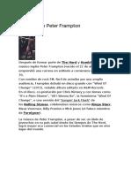 Biografía de Peter Frampton