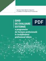 Ghid de evaluare externa a programelor de formare profesionala in invatamantul profesional tehnic