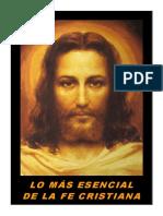 Lo más esencial de la fe cristiana