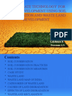 soil conservation and wasteland