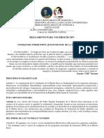 CONSEJO DE VOCERIAS MISIÓN SUCRE UBV