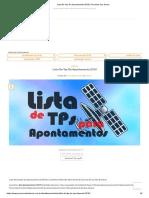 Lista De Tps De Apontamento 2019 _ Parceiros Dos Decos.pdf