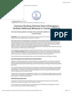 Virginia Governor Ralph Northam - March.pdf