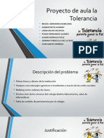 Proyecto de aula la Tolerancia.pptx