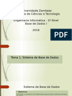 Tema 1 - Sistemas de Base de Dados