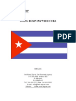 Doing Business With Cuba