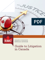 RMC Guide to Litigating in Canada