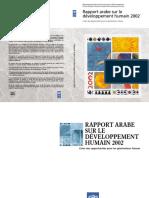 Arab Human Development Report French