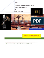 CLASES Derecho Procesal del Trabajo 2020.pdf