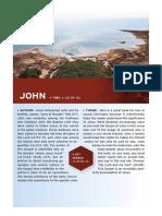 Halley's Study Bible Gospel of John Sampler