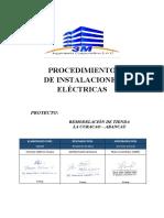 PETS.3M.003 - Proc. de Instalaciones Eléctricas