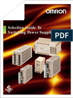 OMRON Switching Power Supplies