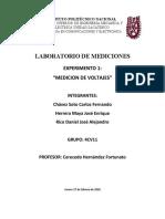 LABORATORIO DE MEDICIONES 1