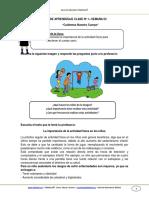 Guia de Aprendizaje Cnaturales 1basico Semana 3 2014