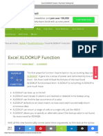 Excel XLOOKUP Function • My Online Training Hub