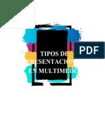 Presentaciones en Multimedia