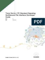 U2000 Trace Server LTE Standard Signaling Northbound File Interface Developer Guide