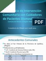 Experiencia de Intervención Comunitaria con Cuidadores de Pacientes Olmué.pptx