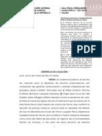 Casación N.° 1527-2018-Tacna