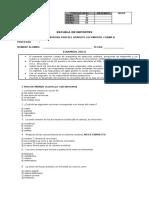 Examen Anotomofisiología B 2011