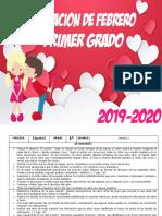 00 Febrero - 1er Grado 2020