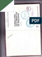 Formulario CEAC de Mecanica