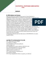 52 DIAS DE INTERSECION PROFETICA PRIMERA PARTE